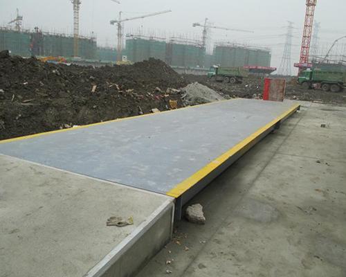 南通二建3台80吨12米电子地磅