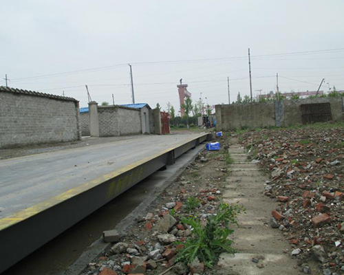 东方雨虹防水材料有限公司100吨16米电子地磅
