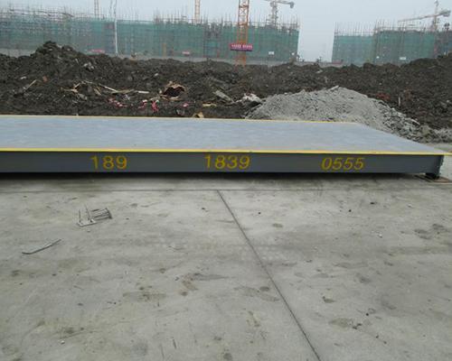 河南省第二建设集团 120吨15米电子地磅