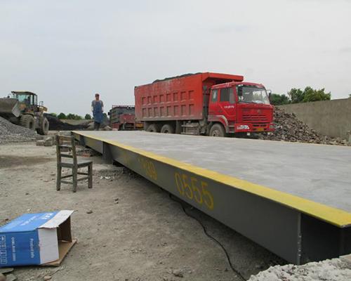 惠达陶瓷集团80吨电子汽车衡